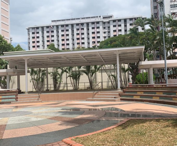 Amphitheatre at Blk 103 Bedok North Ave 4
