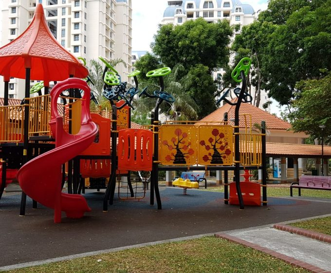 Upgrading of Existing Playground – Blk 765 Bedok Reservoir View