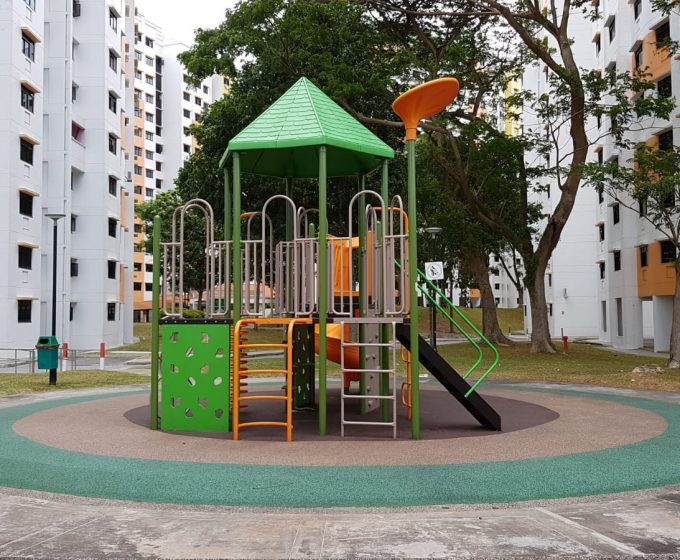 Upgrading of Existing Playground – Blk 772 Bedok Reservoir View