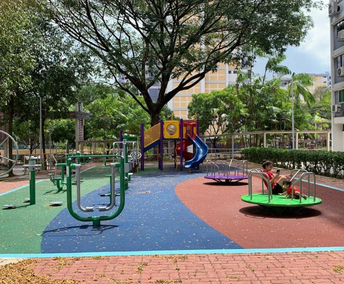 Upgrading of Existing Playground and Fitness Corner – Blk 111-112 Bedok North Road